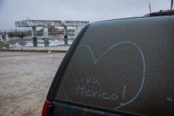 Rain equals mud equals dirty driving