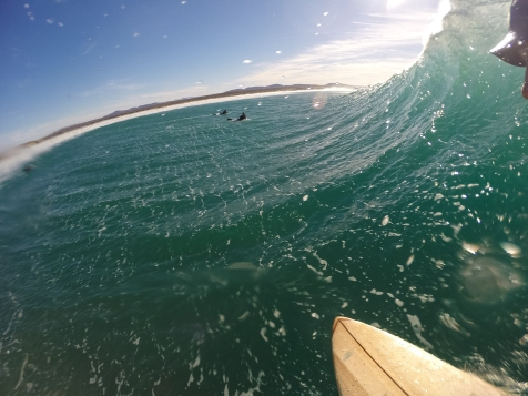 love affair: wood and wave