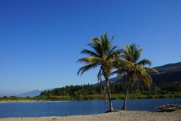 river mouth in La Ticla
