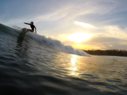 Sunset session in San Blas