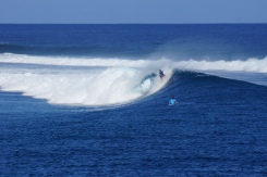 Bethany Hamilton rocking Cloudbreak one-armed