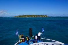 The island paradise of Tavarua
