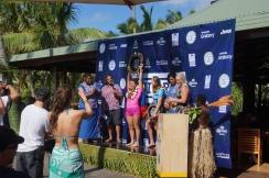 Crowning the Fiji Pro Champion, Johanne Defay