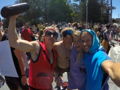 Bay to Breakers with the magic twins