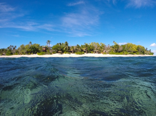 Tavarua is a very exclusive island resort ... way too exclusive for us.