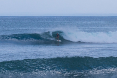 Lotti on her private wave