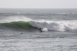 Markus in freezing Nor Cal waters