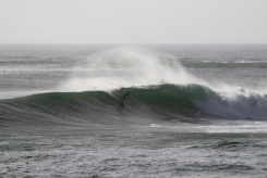 Markus in some true Nor Cal waves