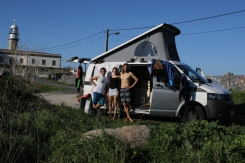 Three people living in a van: no problem at all